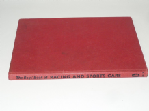 BOYS BOOK OF RACING AND SPORTS CARS : THE (Marriot 1962)